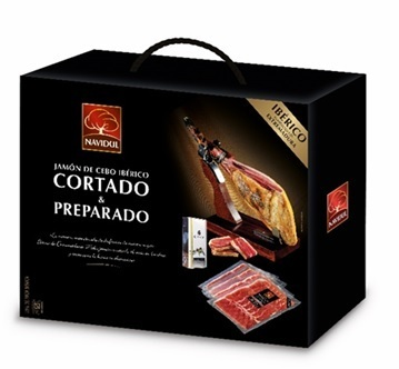 IBERIAN HAM CUT AND PREPARED EXTREMADURA